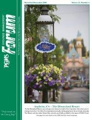 Anaheim, CA - The Disneyland Resort - PGMS