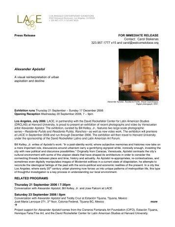 Press Release - LACE