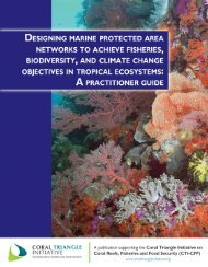 Download File - Coral Triangle Initiative on Coral Reefs Fisheries ...