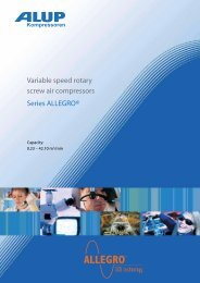 Variable speed rotary screw air compressors Series ALLEGRO®