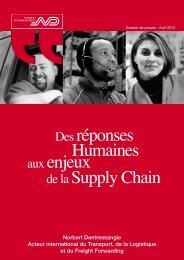 Des réponses Humaines aux enjeux de la Supply Chain - Norbert ...