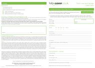 Theft, Loss and Damage Claim Form - helpucover