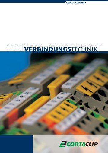 VERBINDUNGSTECHNIK - CONTA-CLIP