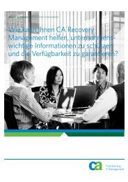 CA Recovery Management - TRAFFIX Network Partner GmbH