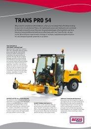 TRANS PRO 54 - Belos