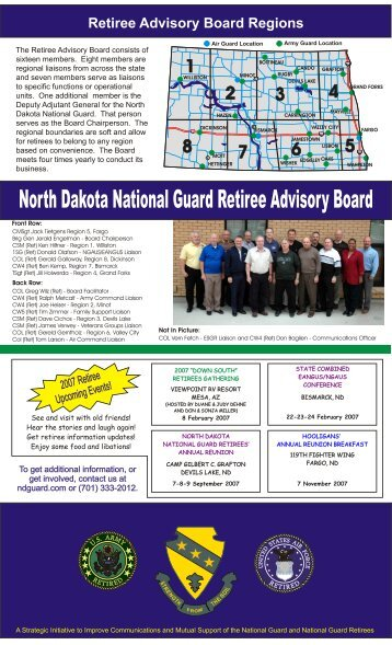 2007-UPDATE-Retiree-Brochure - North Dakota National Guard