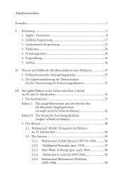Inhaltsverzeichnis - Ergon Verlag
