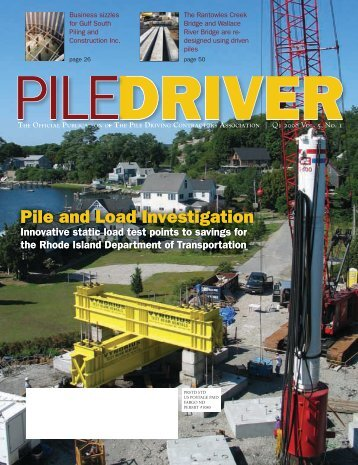 Pile and Load Investigation Pile and Load Investigation