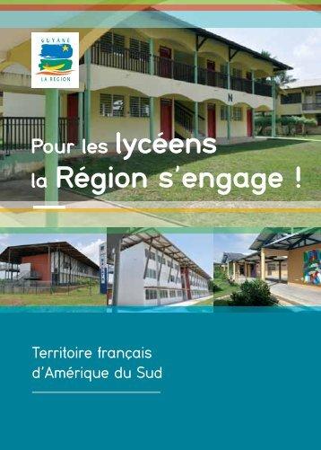 La Région s'engage pour les lycéens - Région Guyane