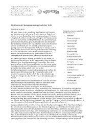 Die Frau in der Menopause aus ayurvedischer Sicht - Dieter Scherer