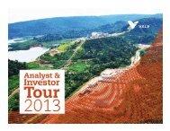 Analyst & Investor Tour 2013 - Vale.com