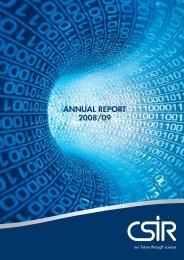 ANNUAL REPORT - CSIR