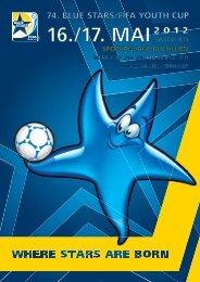 Alle Infos zum Turnier als pdf (14 mb - Blue Stars/FIFA Youth Cup