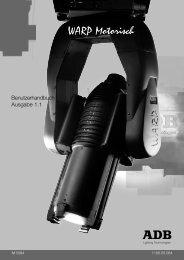 WARP Motorisch - ADB Lighting Technologies