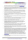 C - Kundenerfahrungen - Crystal NTE SA - Page 2