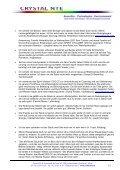C - Kundenerfahrungen - Crystal NTE SA - Page 3