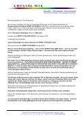 C - Kundenerfahrungen - Crystal NTE SA - Page 5