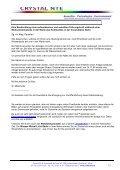 C - Kundenerfahrungen - Crystal NTE SA - Page 7