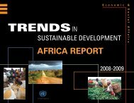 Africa Report - United Nations Sustainable Development