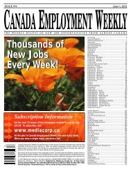 Thousands of New Jobs Every Week! Thousands of New Jobs Every ...