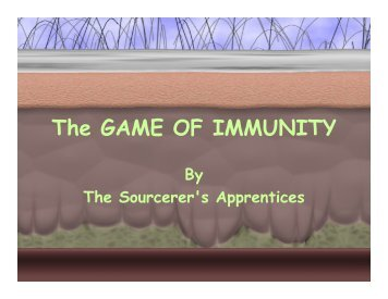 The GAME OF IMMUNITY - Upload Student Web Pages