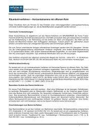 Räumbohrverfahren – Horizontalramme mit ... - Tracto-Technik