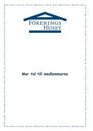 IN a E a B a S a D a T a IT a W a JO , F a S a M a M ... - Föreningshuset
