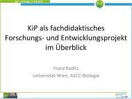 Präsentation - AECC-Bio - Universität Wien