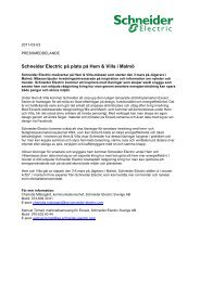 Press Release KAVLICO - Schneider Electric
