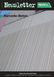 Barcode-Beton - RECKLI GmbH: Home
