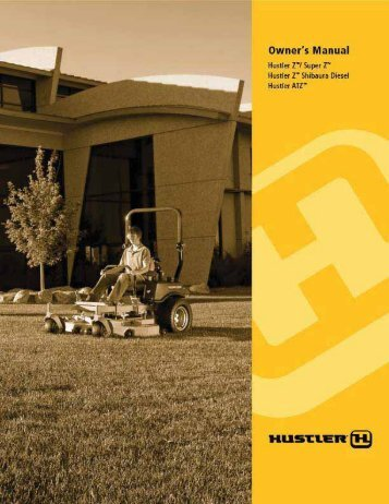 Owner's Manual - Hustler Mowers