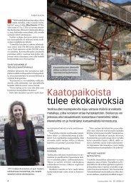 Kaatopaikoista tulee ekokaivoksia pdf-muodossa - Uusiouutiset