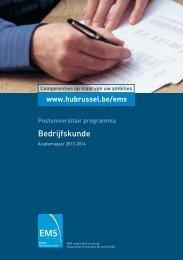 Bedrijfskunde - HUBRUSSEL.net