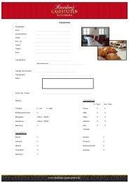 Download: tagungsanfrage.pdf - Residenz-Gaststätten
