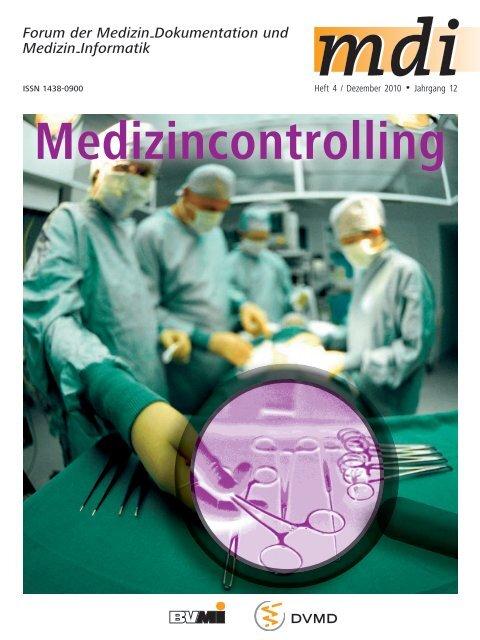 Neue Versionen 2011 - Deutsche Gesellschaft für Medizincontrolling