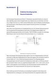 Baustellenbericht Grabenlose Neuverlegung eines - Tracto-Technik