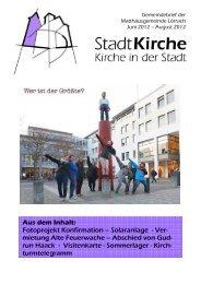 """Offener Jugendtreff """"DIE ZELLE"""" - Matthäusgemeinde Lörrach"""