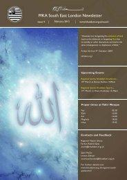 newsletter SEL Feb 13.indd - Majlis Khuddamul Ahmadiyya UK ...