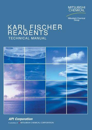 Development of Karl Fischer Reagents