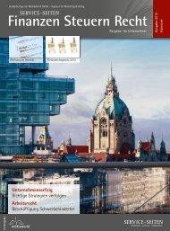 Finanzen Steuern Recht - MediaWorld GmbH