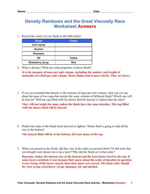 Buoyancy And Density Worksheet The best worksheets image collection likewise Density And Buoyancy Worksheet Worksheets For All Download additionally Fluids and Buoyant Force   ppt download likewise What is Density    Education   Science lessons  Science clroom in addition Archimedes' Principle in addition Density  Temperature  and Salinity   manoa hawaii edu additionally Buoyancy  What Makes Something Float or Sink    YouTube besides Density Fun Facts for Kids furthermore Density Worksheet Answers   Homedressage in addition Collection of Buoyancy worksheet   Download them and try to solve additionally Do Objects Float Better in Salt Water Than in Fresh Water furthermore Buoyancy Study Resources further Matter and Energy Worksheet Density Buoyancy and Viscosity Worksheet furthermore buoyancy worksheet   Siteraven as well Solved  1   7 Points  What Is Archimedes's Principle  Dens besides Density Rainbows and the Great Viscosity Race Worksheet Answers. on density and buoyancy worksheet answers