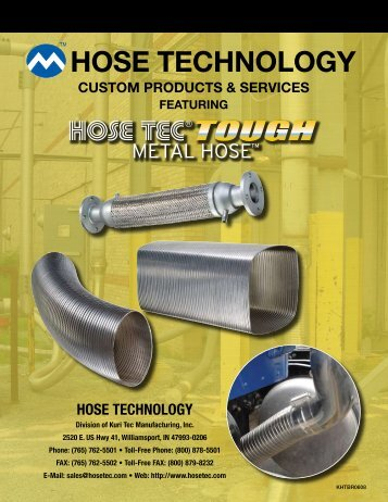 HOSE TECHNOLOGY - Kuriyama of America, Inc.