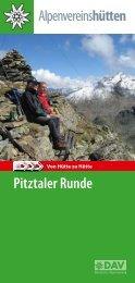 Pitztaler Runde - Deutscher Alpenverein