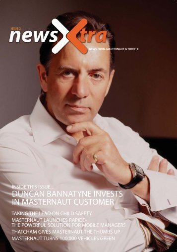 duncan bannatyne invests  in masternaut customer