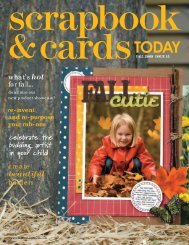 download this issue - Scrapbook & Cards Today
