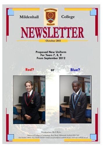 sports news - Mildenhall College of Technology