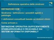 Il modello di Sistema di Sorveglianza Sindromica del Lazio