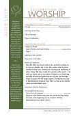 bulletin - Peachtree Presbyterian Church - Page 4