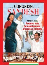 May - 2009 - Congress Sandesh