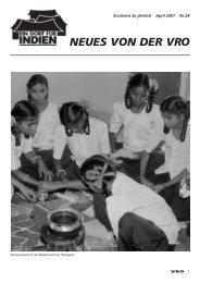Zeitschrift Nr. 28 - VRO Schweiz
